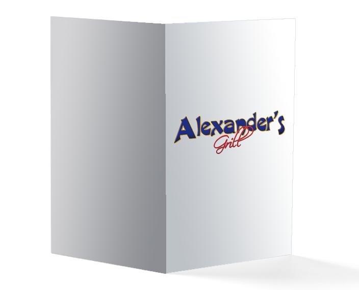 Graphic Portfolio - Alexanders