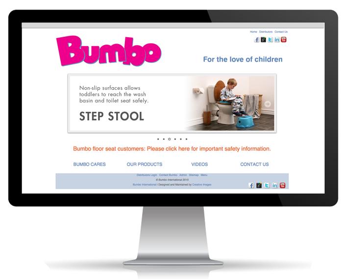 Website Portfolio - Bumbo