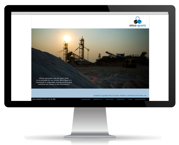 Website Portfolio - Silica Quartz