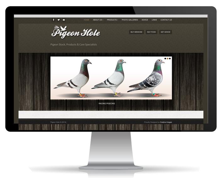 Website Portfolio - The Pigeonhole
