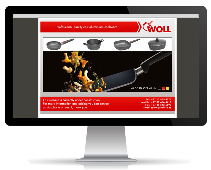 Website Portfolio - Woll SA