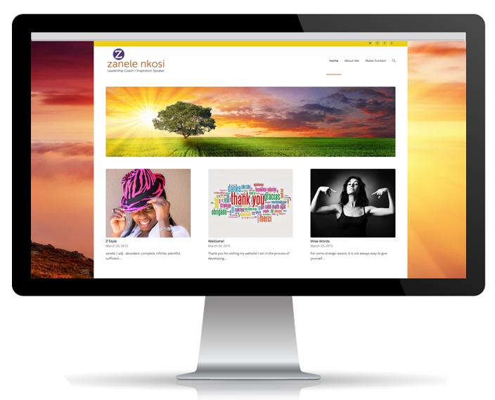 Website Portfolio - Zanele