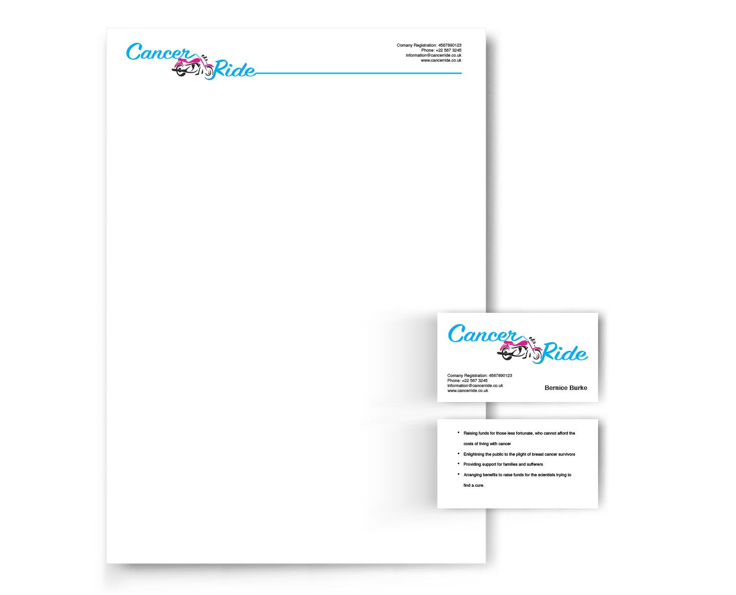 Graphic Portfolio - Cancerride