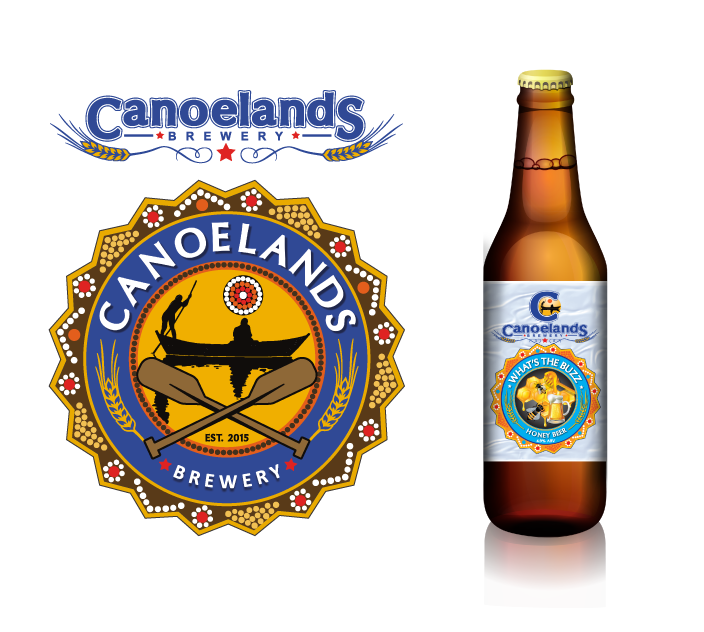 Graphic Portfolio - Canoelands Brewery