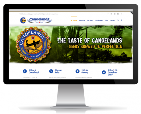Website Portfolio - Canoelands